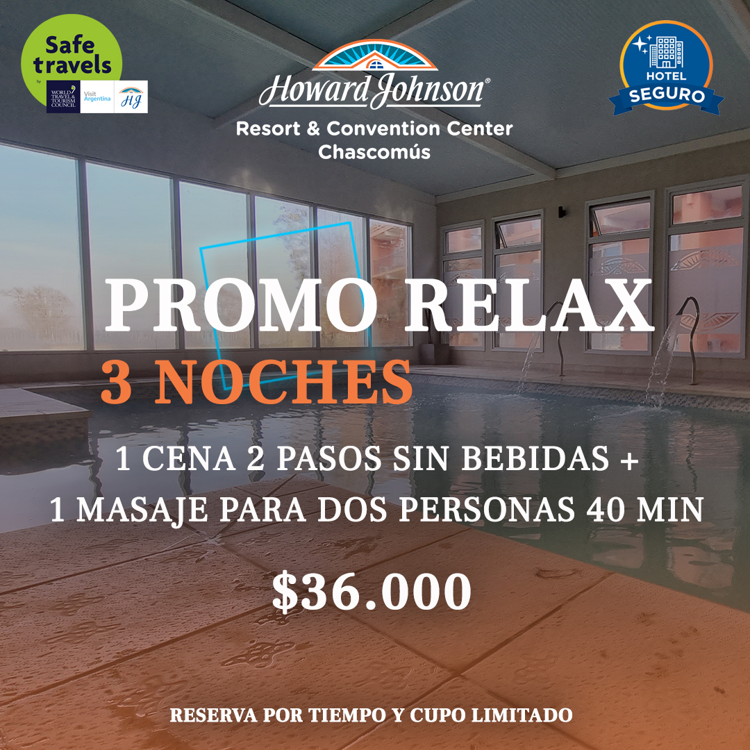 promo 3 noches relax